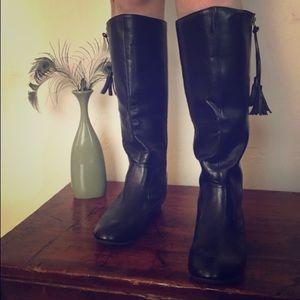 Rampage Tall Black Boots 7